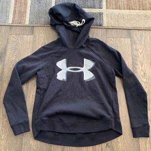 Under Armour black funnel neck sweatshirt